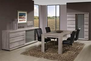 Meubles de salle a manger style contemporain moyenne for Deco cuisine avec meuble salle À manger bois massif contemporain
