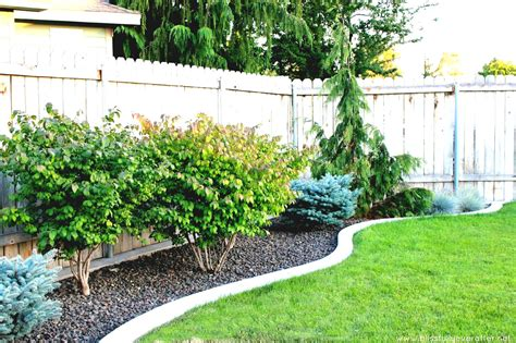 landscape ideas for small low budget landscaping pictures