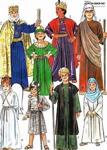 Child Nativity Play Reenactment Costumes Joseph Mary Wise ...