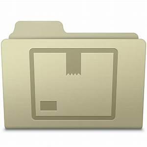 Stock Folder Ash Icon | Smooth Leopard Iconset | McDo Design