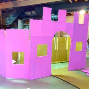 How to Make a Castle Out of Cardboard Box