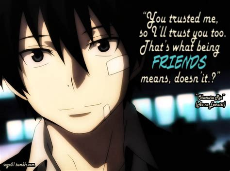 Anime Quotes Anime Quotes Ao No Exorcist Blue Exorcist Quote Page