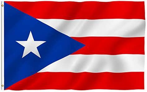 Flag of Puerto Rico: Amazon.com
