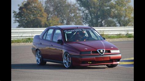 Alfa Romeo 155 by Alfa Romeo 155 2 0 T Spark Race Car On Track
