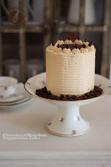 chocolate bourbon cappuccino cake reposteria recetas