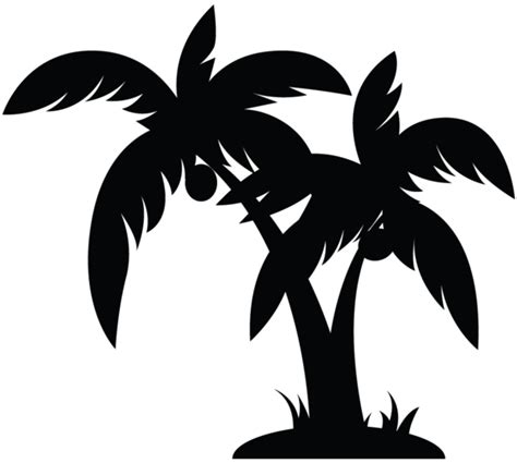 palm tree clipart black and white no background palm tree clip black and white clipart panda free