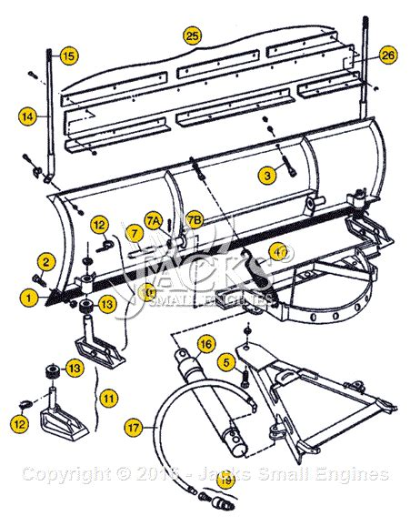 meyer meyer snow plow parts diagram  snow plow parts