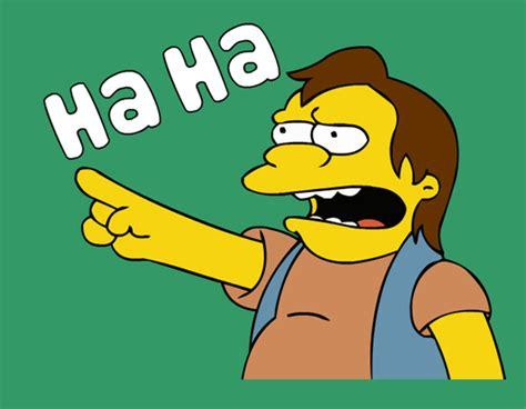 Ha Ha Meme - the simpsons nelson haha