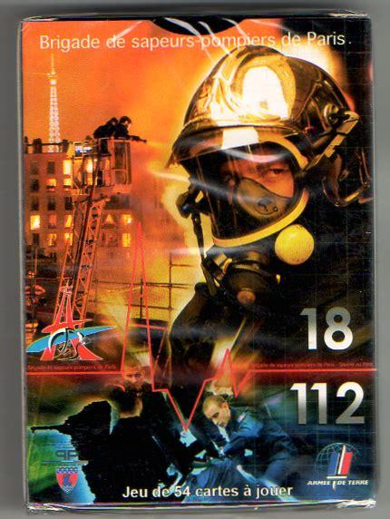 bureau de poste 75015 jeu de carte sapeur pompier aaspp91