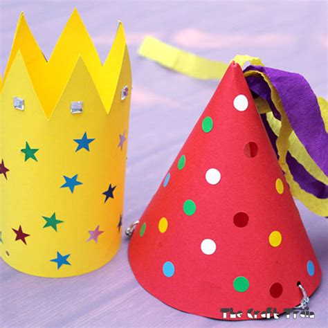 party hats  craft train