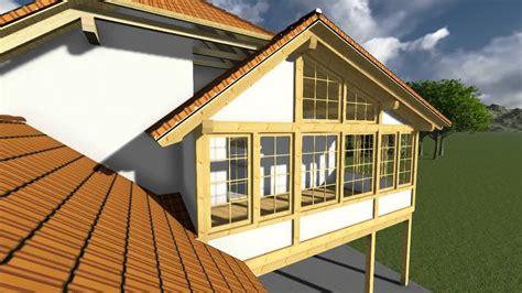 Einfamilienhaus Einfamilienhaus Dieterichs by 3d Cad Animation Zubau Wintergarten Holzbau Roscher