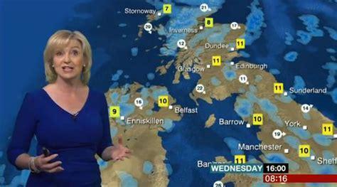 Carol Kirkwood Looks Beautiful In Blue For Bbc Weather