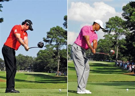 Swing Sequence: Tiger Woods & Rory McIlroy   Rory mcilroy ...