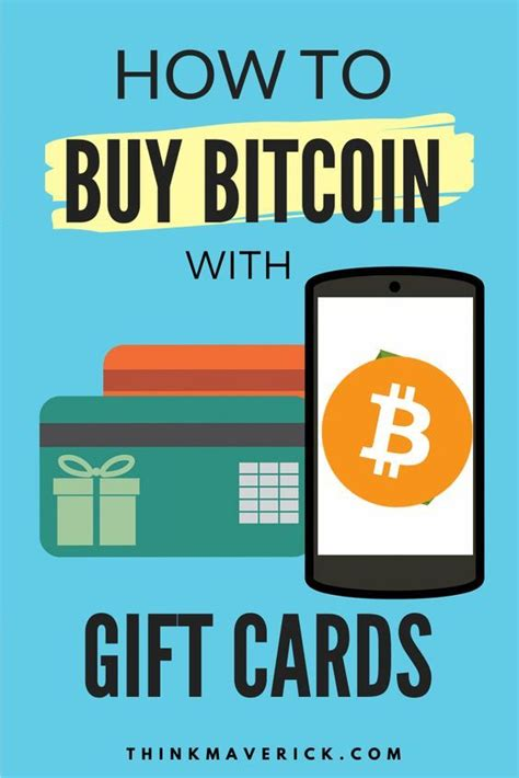 Today we'll show you how easy and fast it can be. How to Buy Bitcoin with Gift Cards - Instantly ...