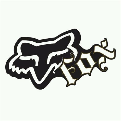 Dirt Bike Racing Pictures Fox Motocross Logo Mark Pinterest