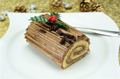 hervé cuisine buche de noel gâteau bûche de noël cuisine az