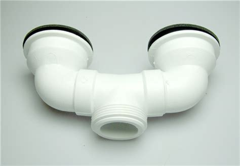 mustee  dual drain assembly