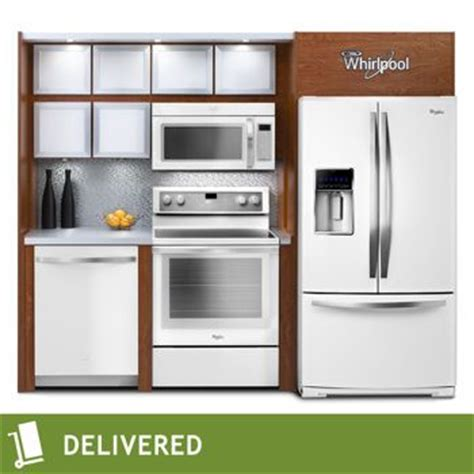 costco whirlpool white ice  pc electric french door kitchen suite costco kitchen kitchen