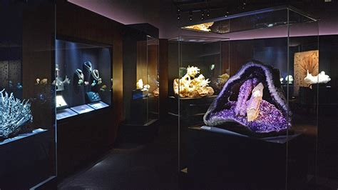 peabody museums  mineral gallery  knock