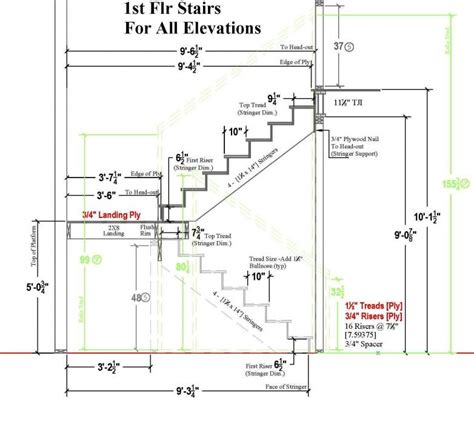 typical residential stair plan drawing google search stair plan concrete stairs stairs design