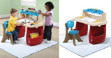 step2 deluxe art desk with splat mat kohl s cardholders step2 deluxe art desk with splat mat