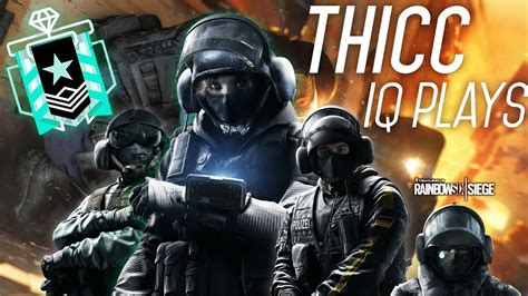 Thicc Iq Plays Iq Jäger And Bandit Highlights Rainbow
