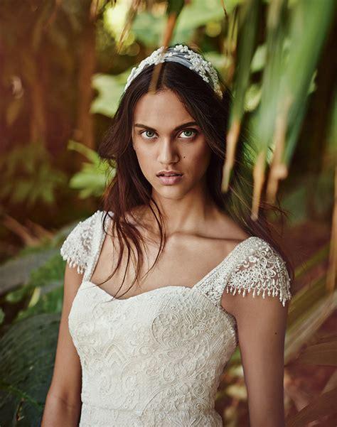 romantic wedding dresses  melissa sweet  davids