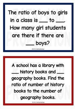 ratio  proportion word problems  treetop resources tpt