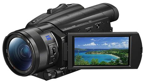 First-look Review Of The Sony Fdr-ax700 4k Hdr Camcorder
