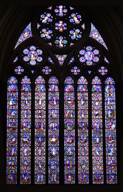 photo stained glass window church decoration
