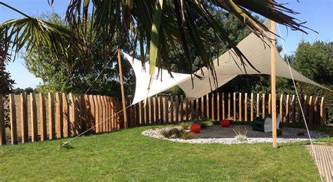 Toile Tendue Exterieur Terrasse #3 - Nos R233alisations De Jardin Et Am233nagement Dext233rieur ...
