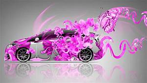 Toyota Prius Fantasy Flowers Butterfly Car 2014 el Tony