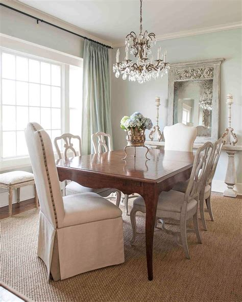 sherwin williams sea salt dining room with