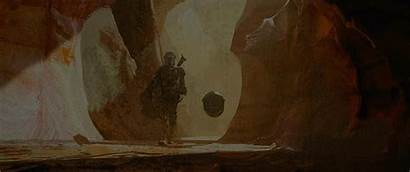 Mandalorian End Episode Credit Concept Wallpapers
