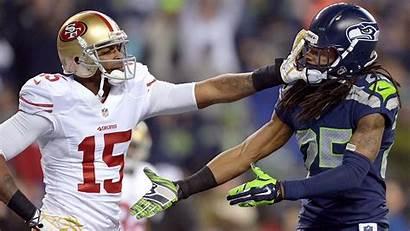 Sherman Richard 49ers Seahawks Crabtree Nfl Seattle