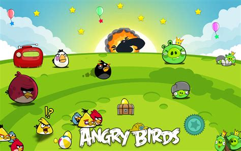 Angry Bird Wallpaper Hd Background Pc #7577 Wallpaper