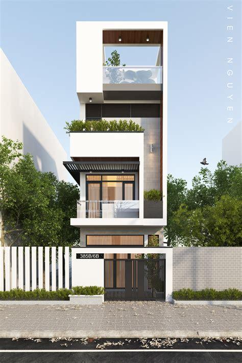 small  tall modern building  dubai powered  atjeffthings facade house modern