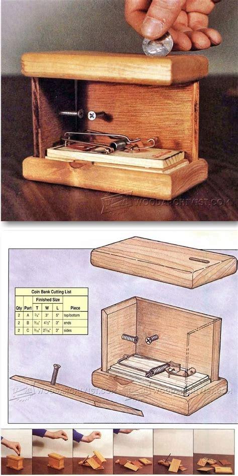 exploding coin bank plans jogos de madeira caixa de madeira