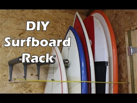 how to make a surfboard rack for your how to make a surfboard rack