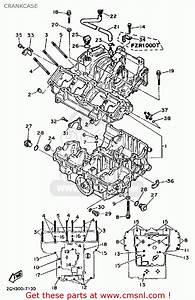 Yamaha Fzr1000 1987 Genesis Usa Crankcase