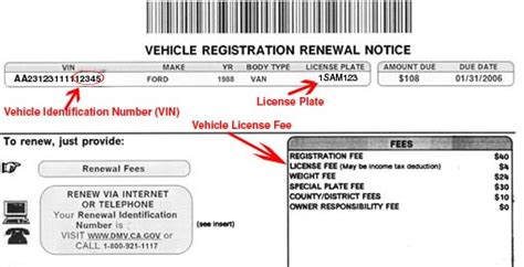 florida proof of vin form vehicle registration and title information