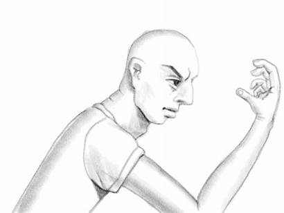 Head Animation Hand Drawing Hands Flash Gifs