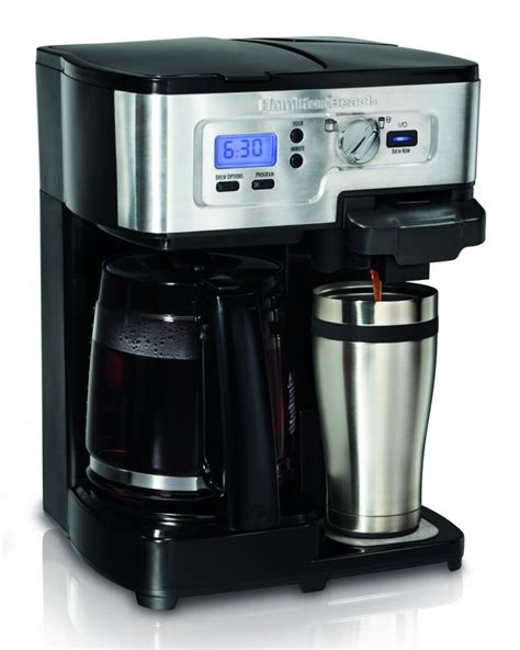 hamilton 49983 2 way flexbrew coffemaker review coffee drinker