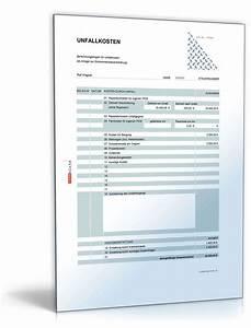 Werbungskosten Berechnen : rechentabelle werbungskosten unfallkosten vorlage zum download ~ Themetempest.com Abrechnung