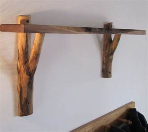 Rustic vintage diy white wooden decorative wall shelves