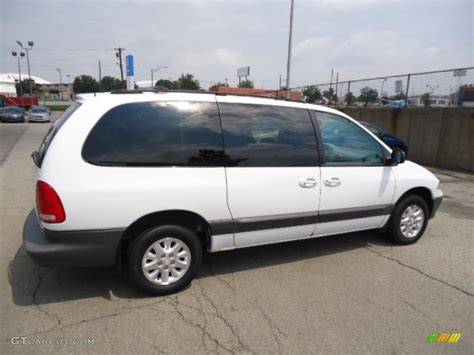 1999 Dodge Caravan by Bright White 1999 Dodge Grand Caravan Se Exterior Photo