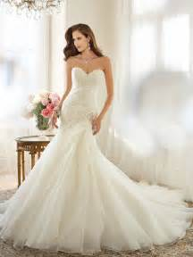 valentino brautkleider organza a line wedding dress with dropped waist
