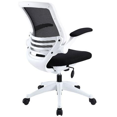 ede fabric black white modern office chair eurway