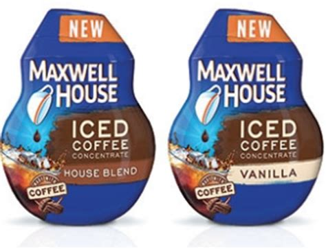Chill coffee drinks without diluting the flavor with coffee ice cubes. $1 off Maxwell House Iced Coffee Concentrate Coupon ...