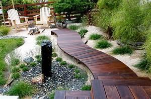 guided gardens beautiful wooden pathways With amenagement petit jardin avec terrasse et piscine 8 terrasse bois le blog de atpvs over blog